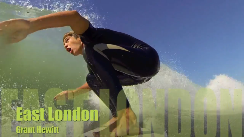 Go Pro Surfing South Africa – by Grant Hewitt