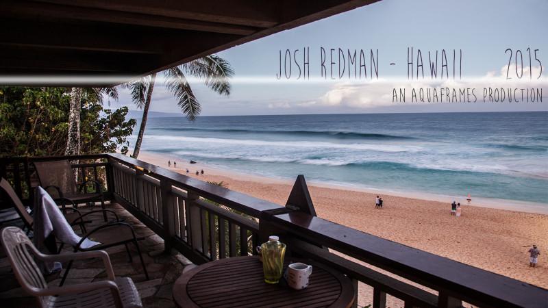 Josh Redman, Hawaii 2015 – by Graeme Brunt