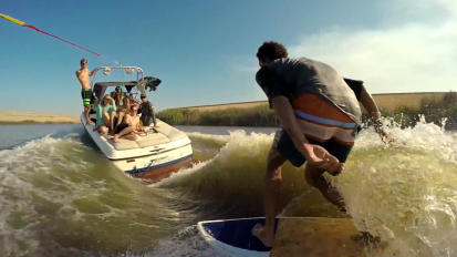 Wakesurfing: The Never Ending Wave – By Chris Rogers