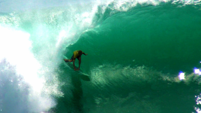 People Inside Big Barrels – By Joey Calhau