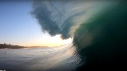Bodyboarding Durban South Africa by Bruce Donkin